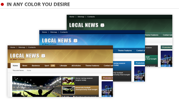 Local News - WP News Theme